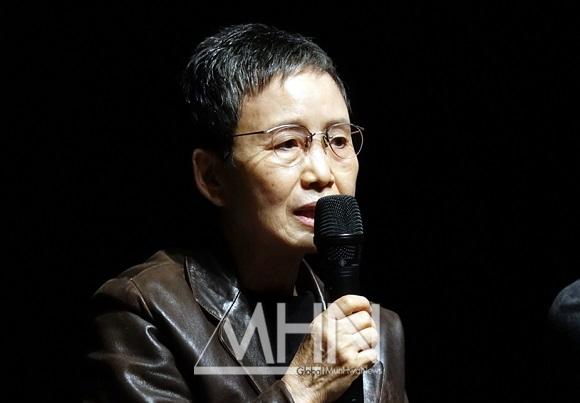 '양성평등문화인상' 수상자 한태숙 수상소감