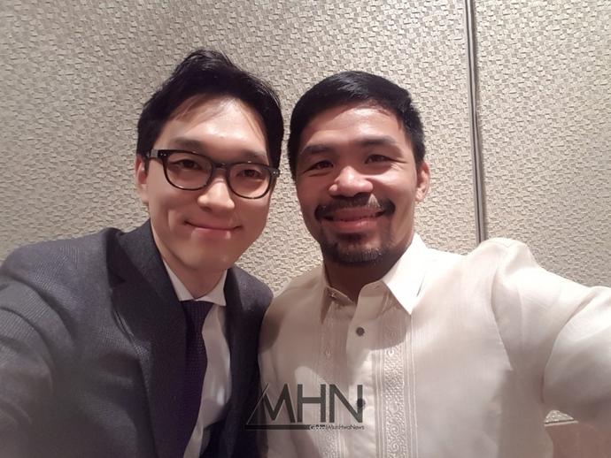[고승우 변호사의 법률과 엔터] 필리핀의 거인 파퀴아오와의 만남! (스타 법률자문의 역할은?)