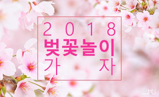 [문화카드] 성큼 다가온 봄, 벚꽃 놀이 여행 어디로 갈까?