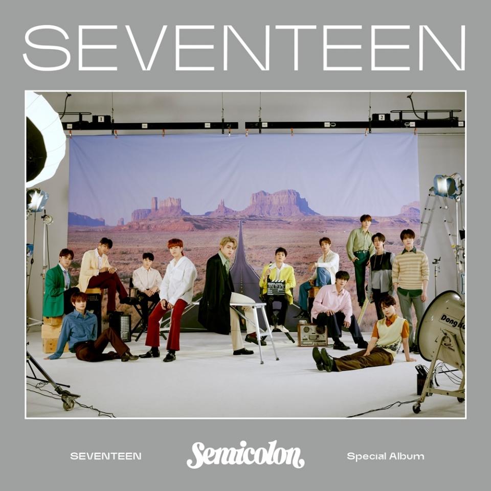 세븐틴, '홈런'쳤다…'; [Semicolon]'으로 음원+음반차트 1위 석권 - 문화뉴스